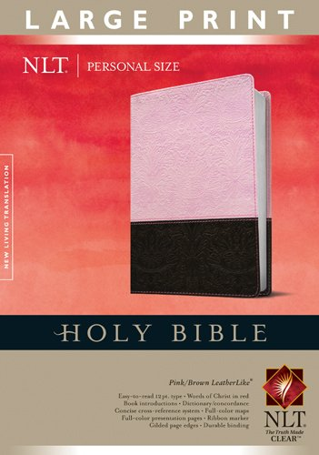 9781414337470: Holy Bible NLT, Personal Size Large Print edition, TuTone