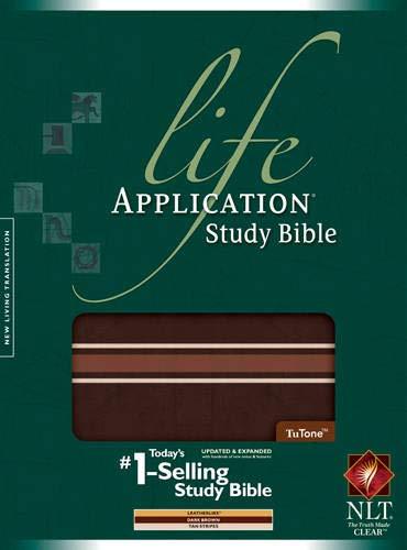 Life Application Study Bible NLT, TuTone (Life Application Study Bible: Nltse)