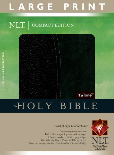 9781414337586: Compact Edition Bible NLT, Large Print, TuTone