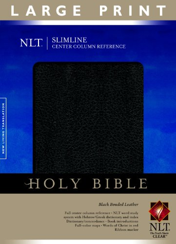 9781414338477: Slimline Center Column Reference Bible-NTL-Large Print