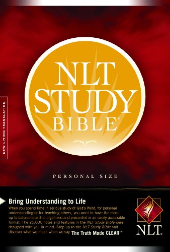 9781414338583: Study Bible-NLT-Personal Size