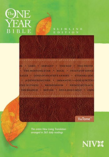 9781414338613: The One Year Bible NIV, Slimline Edition, TuTone