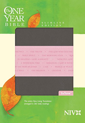 9781414338620: The One Year Bible NIV, Slimline Edition, TuTone