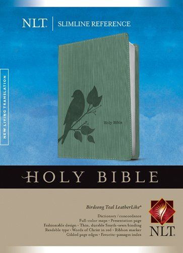 9781414338668: Slimline Reference Bible NLT