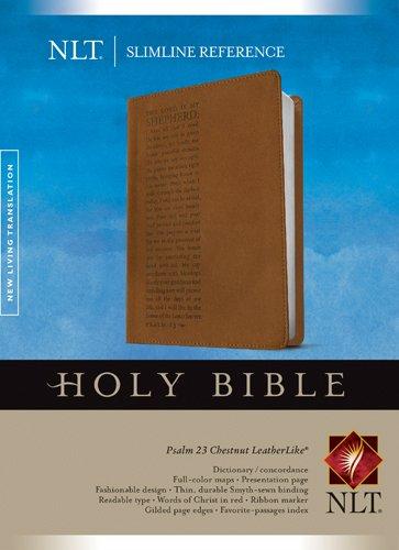 9781414338675: Slimline Reference Bible NLT