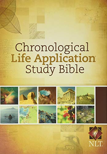 Chronological Life Application Study Bible-NLT (Hardcover)
