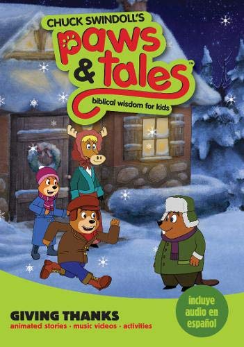 9781414341118: Giving Thanks: Biblical Wisdom for Kids (Chuck Swindoll's Paws & Tales)