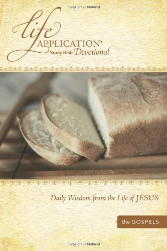 9781414348131: Life Application Study Bible Devotional: Daily Wisdom from the Life of Jesus