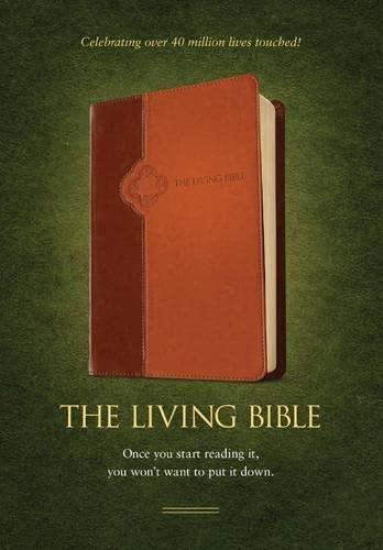 Living Bible-LIV: Paraphrased (Imitation Leather)