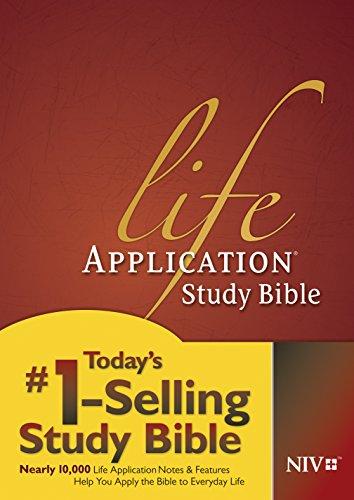 9781414359748: Life Application Study Bible: New International Version