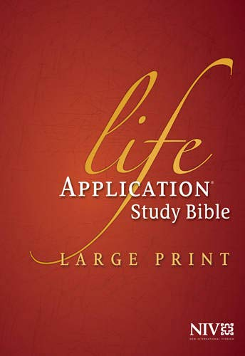 9781414359779: Life Application Study Bible NIV, Large Print