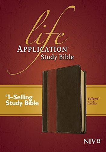 Life Application Study Bible-NIV (Imitation Leather)