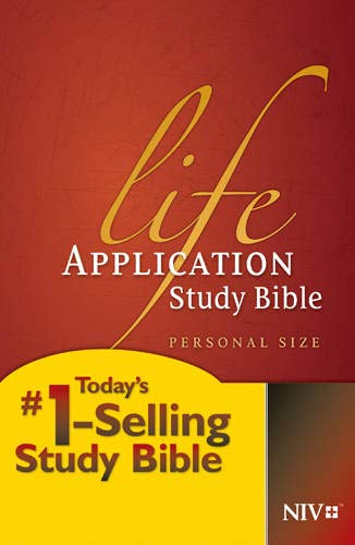 9781414359809: Life Application Study Bible: New International Version, Personal Size Edition