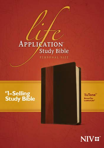 9781414359823: Life Application Study Bible NIV, Personal Size, TuTone