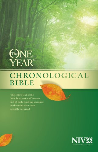 9781414359922: The One Year Chronological Bible NIV