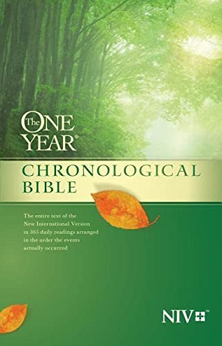 The One Year Chronological Bible NIV: Tyndale