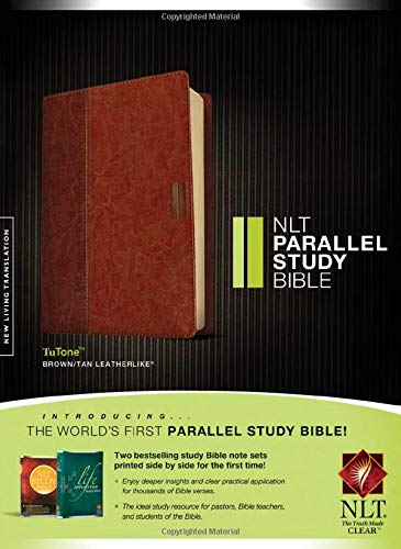 NLT Parallel Study Bible, TuTone Format: Book