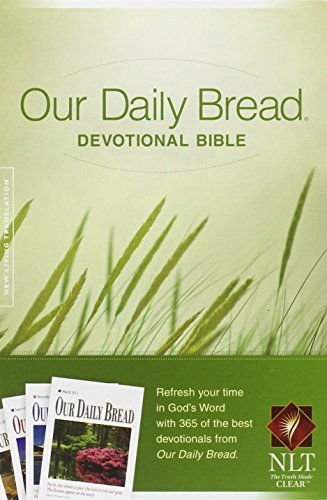 9781414361963: Our Daily Bread Devotional Bible NLT