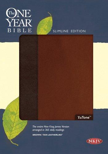9781414363271: The One Year Bible NKJV, TuTone