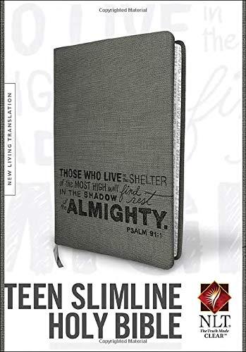 9781414363295: Teen Slimline Bible NLT
