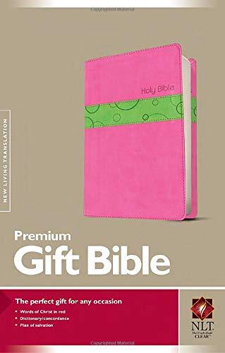9781414363394: NLT Prem Gift Bible TuTone Bubble Gum Pistachio Leather Like (Bible Nlt)