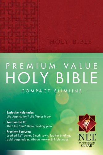 9781414364643: Premium Value Compact Slimline Bible NLT