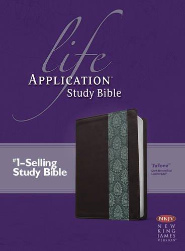 9781414365046: Life Application Study Bible NKJV, TuTone
