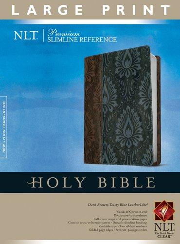 9781414368290: Premium Slimline Reference Bible NLT, Large Print, TuTone