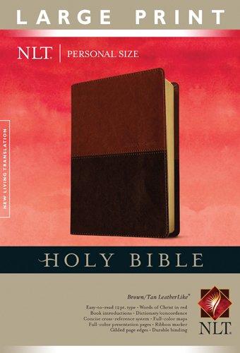 Holy Bible NLT, Personal Size Large Print edition, TuTone (Personal Size Lp: Nltse)