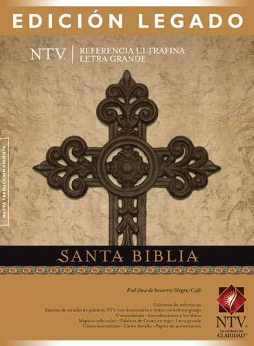9781414368375: Santa Biblia Edicion de Referencia Ultrafina-Ntv-Letra Grande
