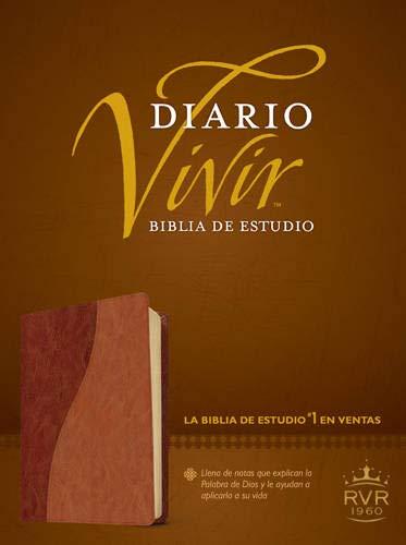 9781414368733: Biblia de estudio Diario vivir RVR60, DuoTono (Spanish Edition)