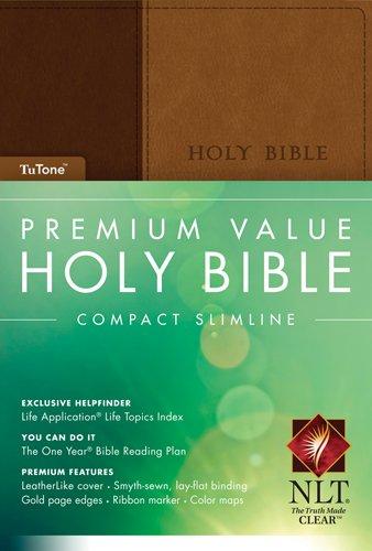 9781414369877: Compact Slimline Bible-NLT