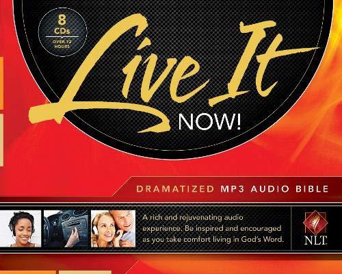 9781414372266: Live It Now! Dramatized Audio Bible, MP3