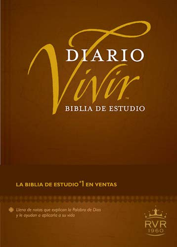 9781414372976: Holy Bible: Biblia De Estudio Diario Vivir RVR60 / Reina Valera Study Bible, Tutone, Leatherlike, Black/Onyx