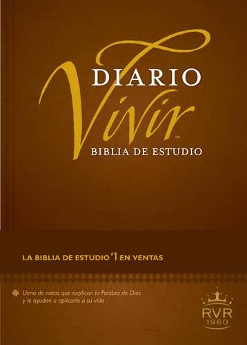 9781414372976: Biblia de Estudio Diario Vivir-Rvr 1960