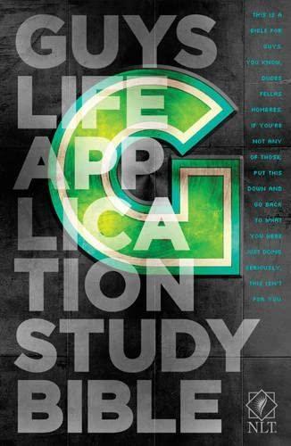 9781414375120: Guys Life Application Study Bible NLT