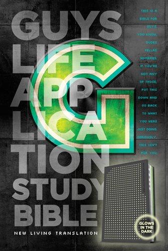 9781414375144: Guys Life Application Study Bible NLT, TuTone