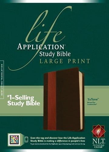 Life Application Study Bible-NLT-Large Print (Imitation Leather)