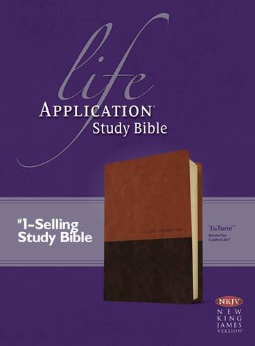 9781414375465: Life Application Study Bible NKJV, TuTone