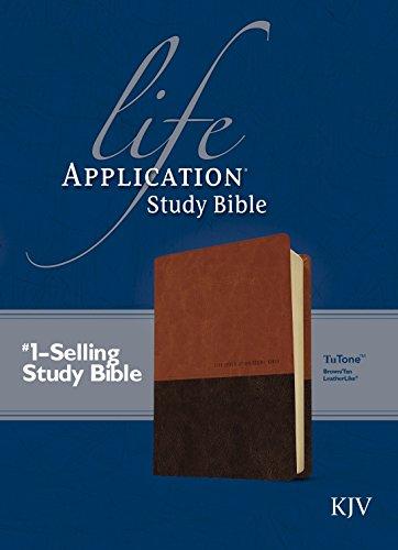 9781414375472: Life Application Study Bible KJV, TuTone