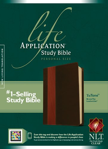 Life Application Study Bible-NLT-Personal Size (Imitation Leather)