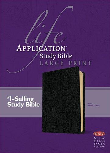 9781414378985: Life Application Study Bible NKJV Large Print