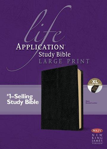 9781414378992: Life Application Study Bible-NKJV-Large Print