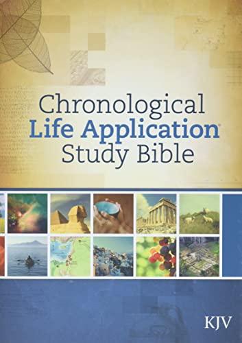 9781414380582: Chronological Life Application Study Bible-KJV (Bible Kvj)