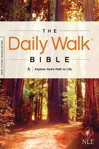 9781414380612: The Daily Walk Bible NLT