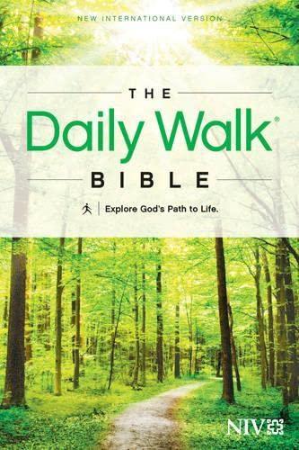9781414380629: The Daily Walk Bible NIV
