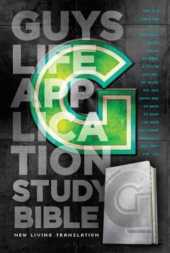 9781414380803: Guys Life Application Study Bible NLT