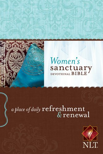 9781414380896: Women's Sanctuary Devotional Bible NLT: A Place of Daily Refreshment and Renewal