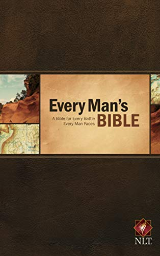 9781414381046: Every Man's Bible NLT
