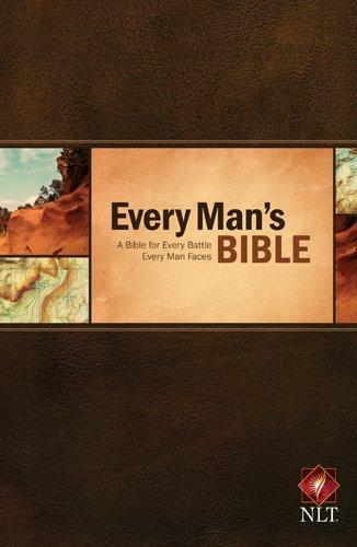 9781414381060: Every Man's Bible: New Living Translation